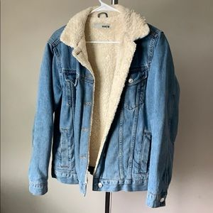 TopShop Jean Jacket with lining